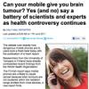 PR-kriget om mobilens cancerrisker